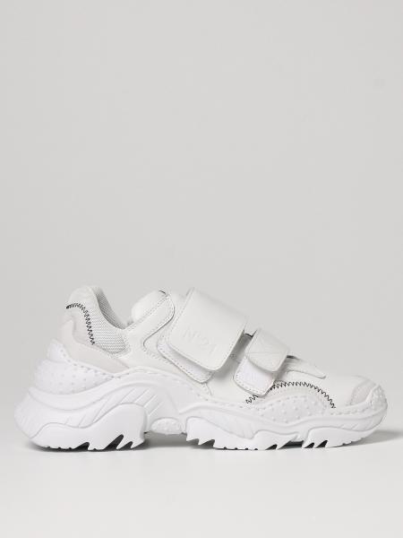 Sneakers Billy N°21 in pelle