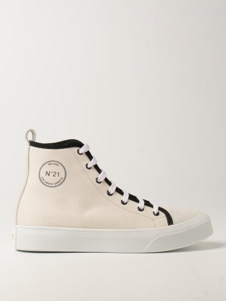 Sneakers N°21 in canvas