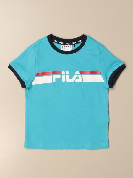 T-shirt Fila in cotone con logo