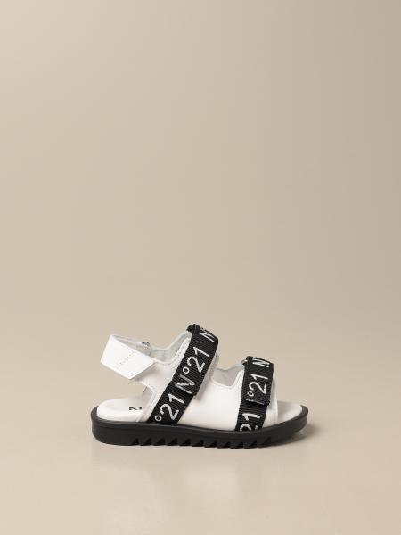 Sandals N ° 21 in leather