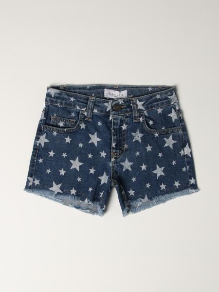 Pantaloncino di jeans GaËlle Paris con stelle