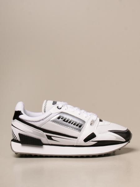 Puma: Sneakers Mile Rider Sunny Puma in pelle sintetica e tessuto