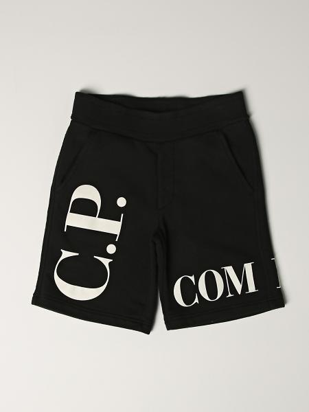 Pantaloncino jogging C.p. Company con logo