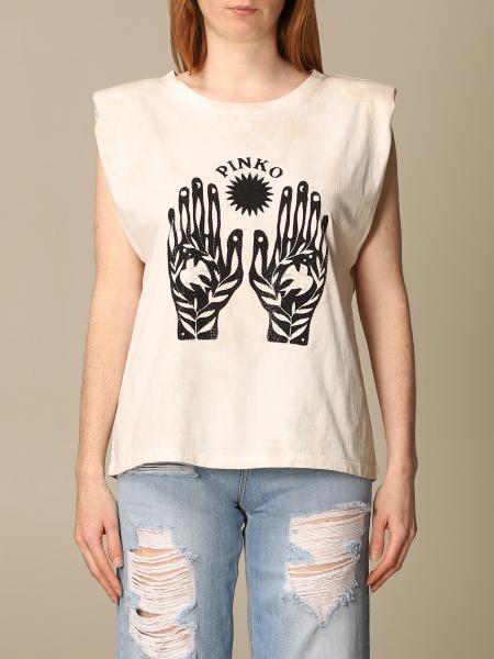 Pinko women: Pinko T-shirt with print