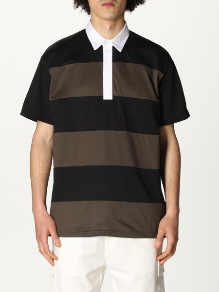 Low Brand: Low Brand polo shirt with two-tone bands