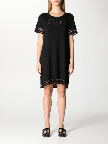 Twinset women: Twin-set short dress in viscose blend