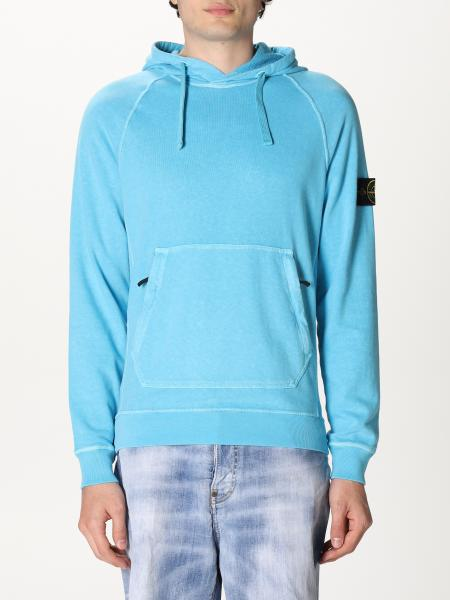 Stone Island hooded jumper in cotton