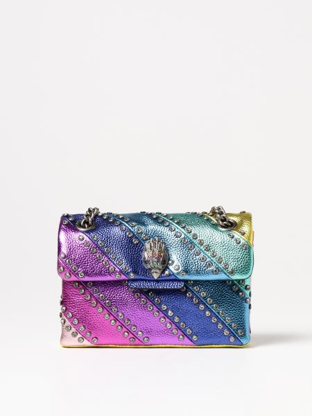 Kurt Geiger London: Borsa Kurt Geiger London in pelle laminata e multicolor
