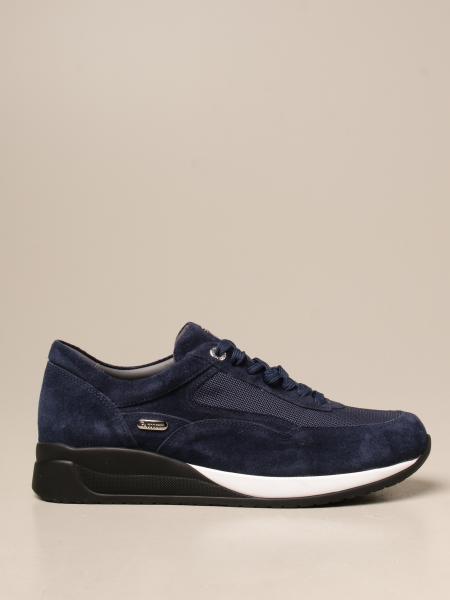 Paciotti 4Us: Sneakers Paciotti 4US in camoscio e mesh