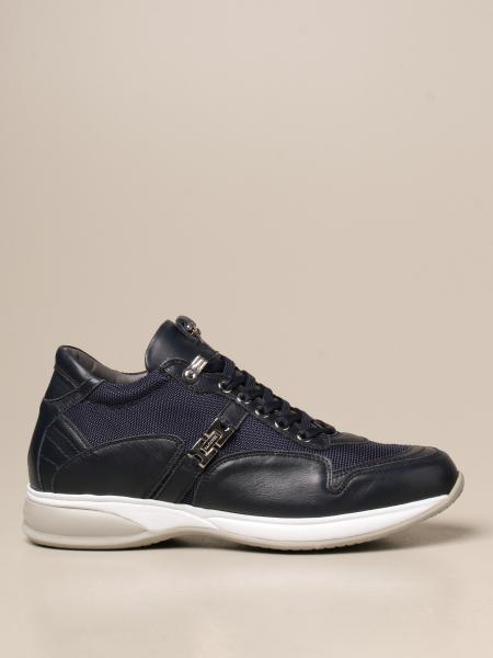 Paciotti 4Us: Sneakers Paciotti 4US in pelle e mesh