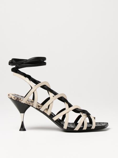 Босоножки на каблуке Женское Just Cavalli