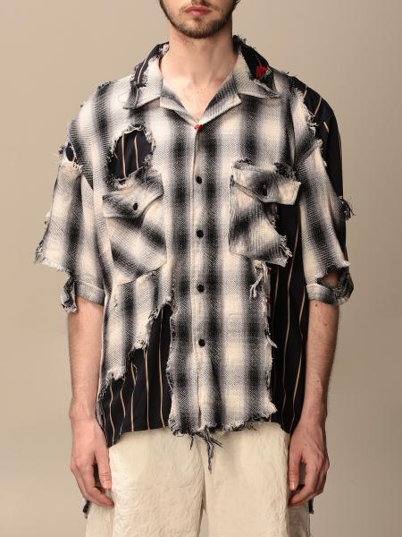Maison Mihara Yasuhiro: Maison Mihara Yasuhiro shirt with tears