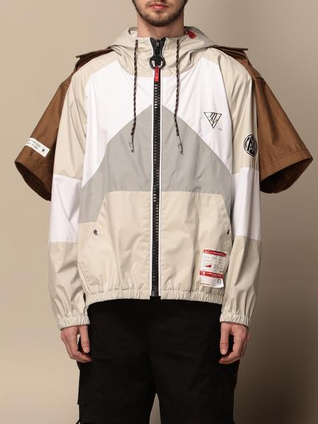 Maison Mihara Yasuhiro: Maison Mihara Yasuhiro nylon jacket with double sleeves
