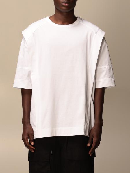 Juun.j: Juun.j oversized T-shirt with slits