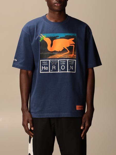 Heron Preston: Heron Preston t-shirt in cotton with print