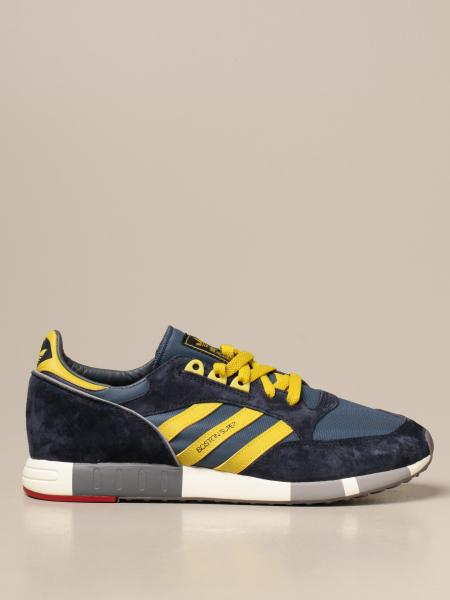 Boston Super Adidas Originals sneakers in canvas and suede