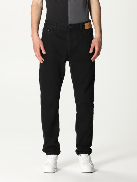Palm Angels: Palm Angels 5-pocket jeans with back logo