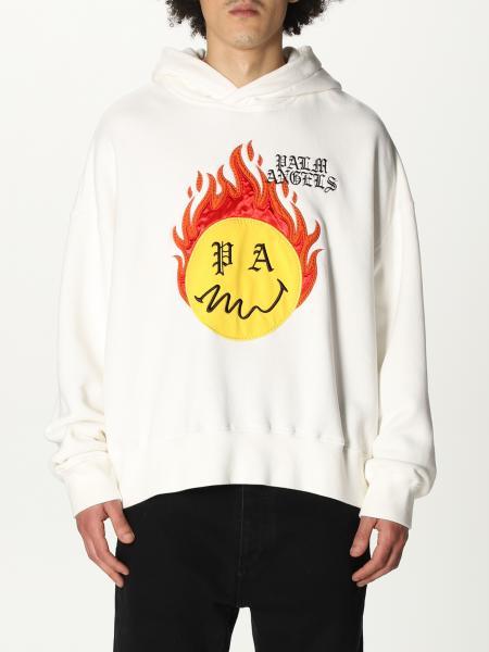 Palm Angels: Palm Angels logo hoodie