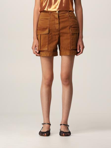 Pinko women: Pinko cotton shorts with kargo pockets