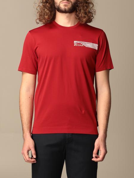 Z Zegna cotton t-shirt with logo