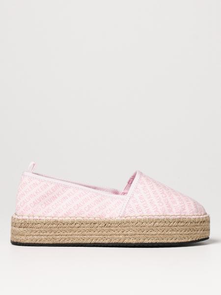 Calvin Klein: Flache sandalen damen Calvin Klein