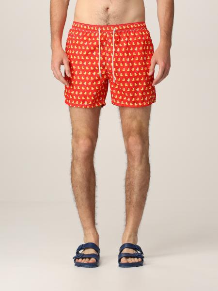 Mc2 Saint Barth swim shorts with duck pattern