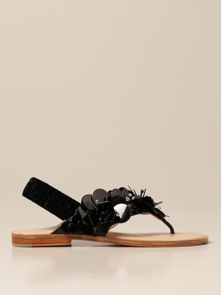 Flache sandalen damen Maliparmi