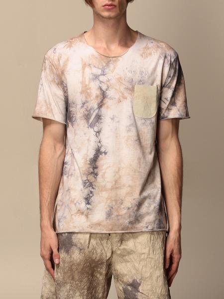 T-shirt Giorgio Brato con taschino a toppa