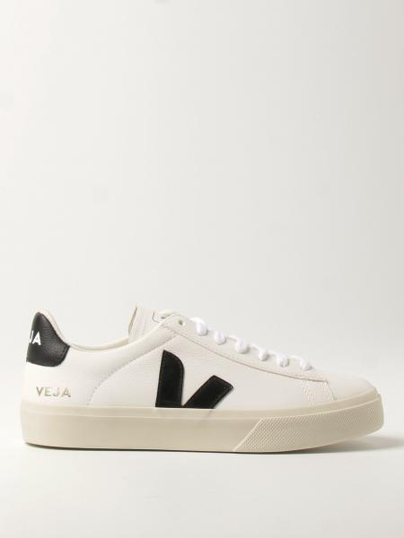 Veja: Sneakers Veja in pelle a micro grana
