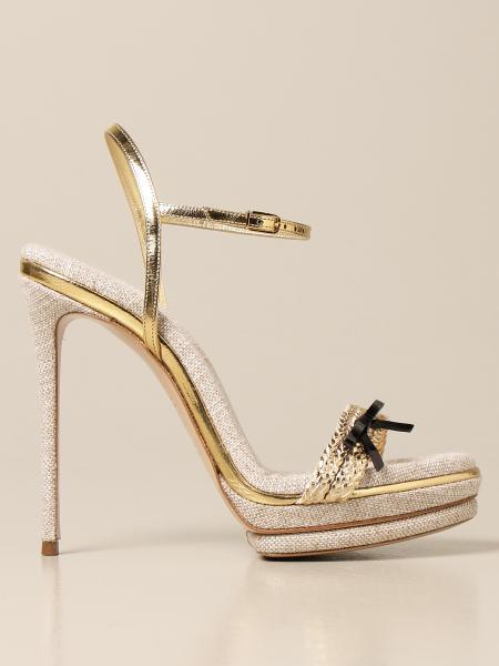 Босоножки на каблуке Женское Casadei