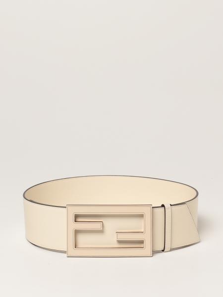 Fendi women: Baguette Fendi belt in leather with buckle