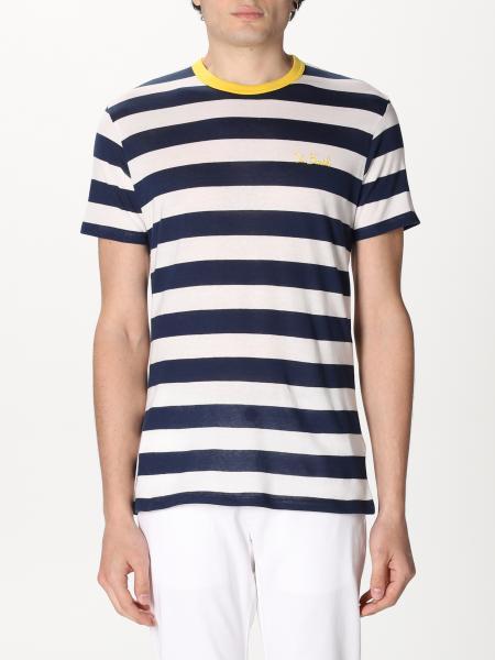 T-shirt Mc2 Saint Barth a righe