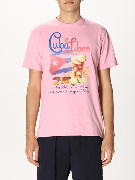 T-shirt Mc2 Saint Barth con stampa Cuba libre