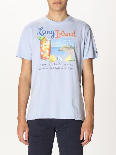 T-shirt Mc2 Saint Barth con stampa Long Island