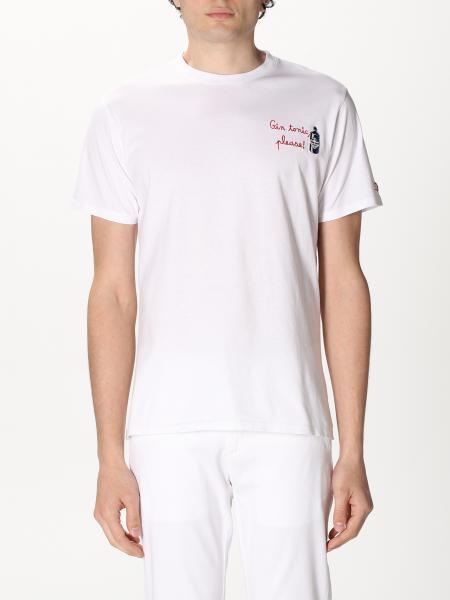 T-shirt Mc2 Saint Barth con mini logo
