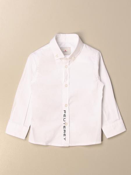 Camicia Peuterey in cotone con logo