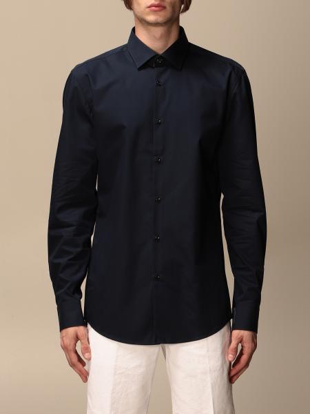 Camicia basic Hugo con collo italiano