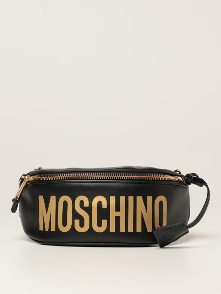 Moschino ЖЕНСКОЕ: Сумка на пояс Женское Moschino Couture
