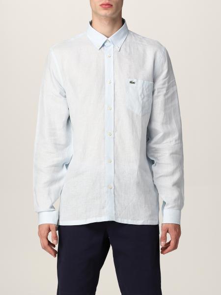 Camicia di lino Lacoste