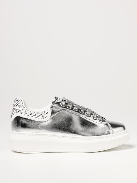 Gaëlle Paris: Sneakers GaËlle Paris in pelle sintetica laminata