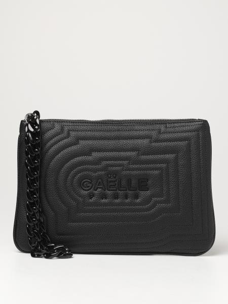 Gaëlle Paris: Pochette Gaëlle Paris in pelle sintetica trapuntata con logo