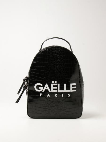 Gaëlle Paris: Zaino Gaëlle Paris in pelle sintetica con stampa cocco