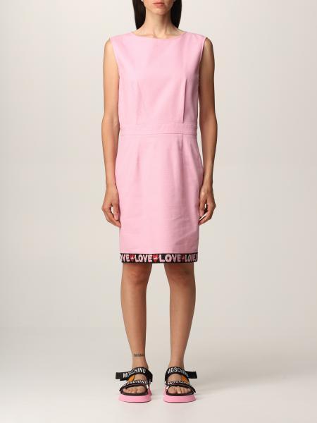 Love Moschino: Love Moschino sheath dress in cotton