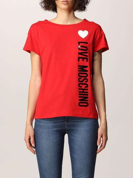 Love Moschino: Love Moschino logo T-shirt