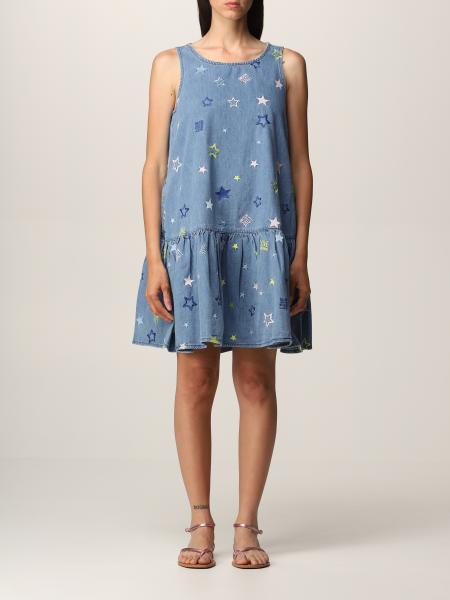 Love Moschino: Love Moschino dress in cotton with stars