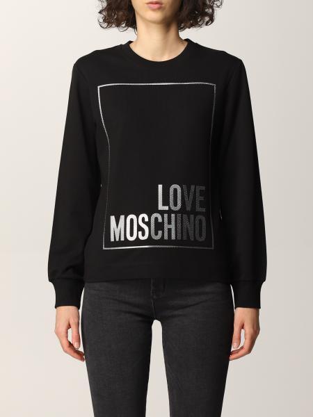 Felpa Love Moschino con logo