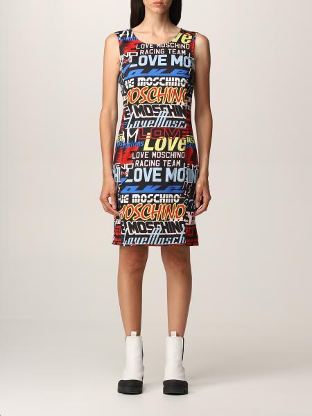 Love Moschino: Love Moschino printed dress