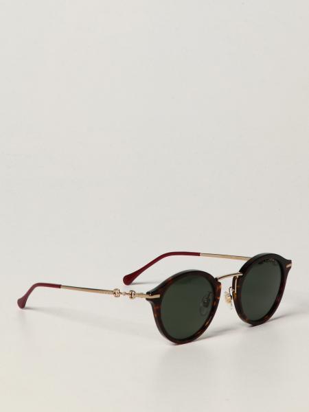 Gucci: Gucci sunglasses in metal and acetate