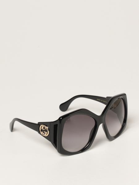 Gucci women: Gucci over sunglasses in acetate
