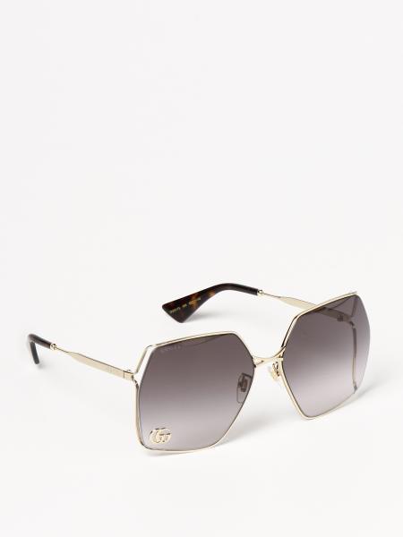 Gucci: Occhiali da sole Gucci in metallo